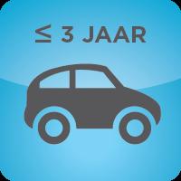 AUTO'S TOT 3 JAAR